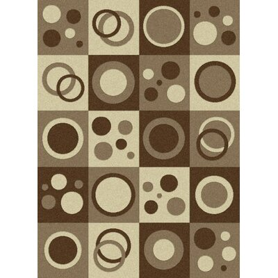 Lara Shapes Soft Contemporary Rug Rug Size: Rectangle 53 x 73