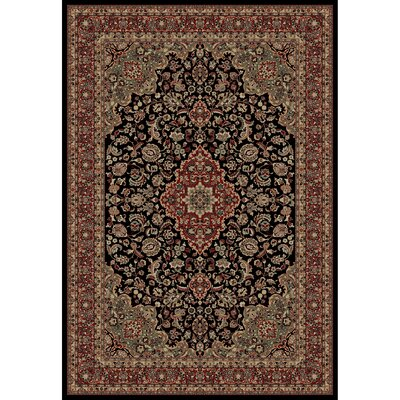 Persian Classics Oriental Medallion Area Rug Rug Size: 67 x 96