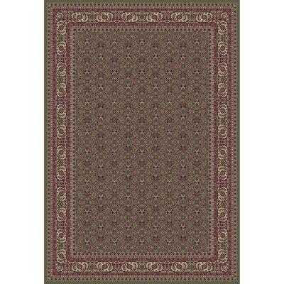 Persian Classics Herati Green Rug Rug Size: 710 x 112