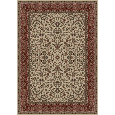 Persian Classics Oriental Kashan Area Rug Rug Size: Rectangle 67 x 96