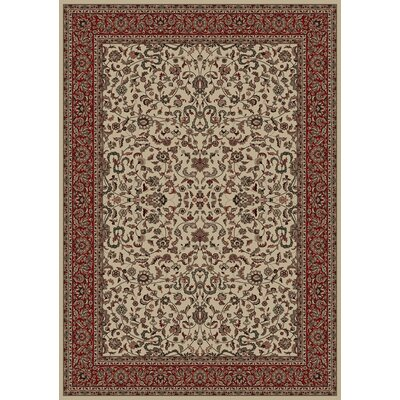 Persian Classics Oriental Kashan Area Rug Rug Size: 710 x 112
