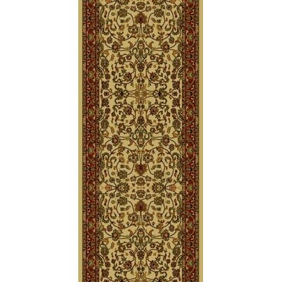 Persian Classics Oriental Kashan Area Rug Rug Size: Runner 2 x 77