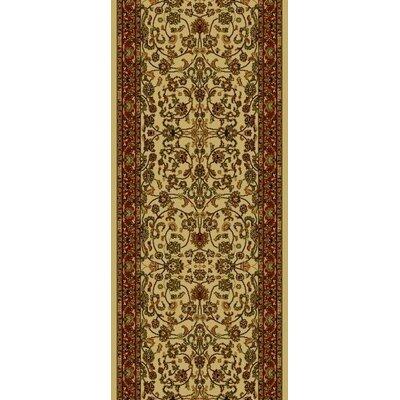 Persian Classics Oriental Kashan Area Rug Rug Size: Runner 2' x 7'7