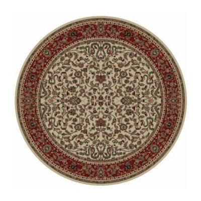 Persian Classics Oriental Kashan Area Rug Rug Size: Round 710