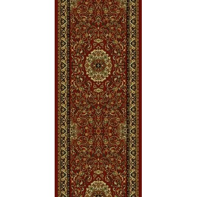 Persian Red Classics Oriental Isfahan Area Rug Rug Size: Runner 2 x 77