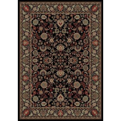 Persian Classics Oriental Mahal Black Area Rug Rug Size: 311 x 57