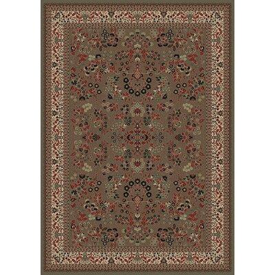 Persian Classics Oriental Sarouk Green Area Rug Rug Size: 710 x 112