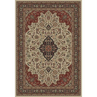 Persian Classics Oriental Medallion Area Rug Rug Size: 53 x 77