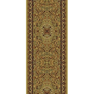 Persian Gold Classics Oriental Isfahan Area Rug Rug Size: Runner 2 x 77