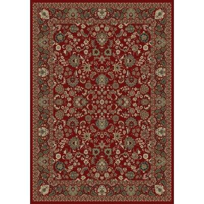Persian Classics Oriental Mahal Red Area Rug Rug Size: 93 x 1210