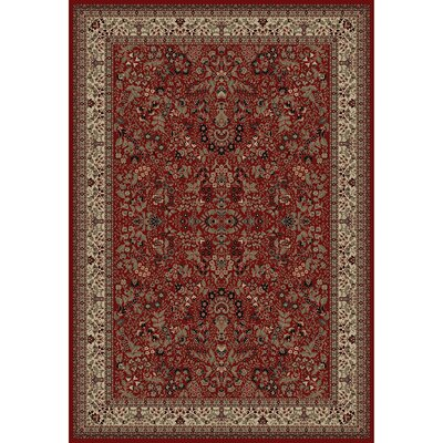 Persian Classics Oriental Sarouk Red Area Rug Rug Size: 710 x 112