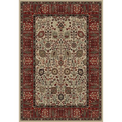 Persian Classics Oriental Vase Area Rug Rug Size: 311 x 57