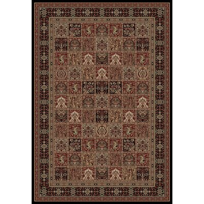 Persian Classics Oriental Panel Area Rug Rug Size: Rectangle 27 x 5