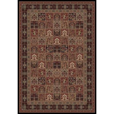 Persian Classics Oriental Panel Area Rug Rug Size: 710 x 112