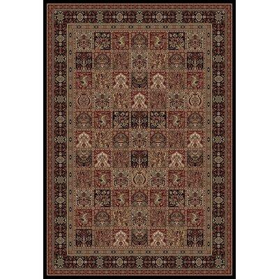 Persian Classics Oriental Panel Area Rug Rug Size: 93 x 1210