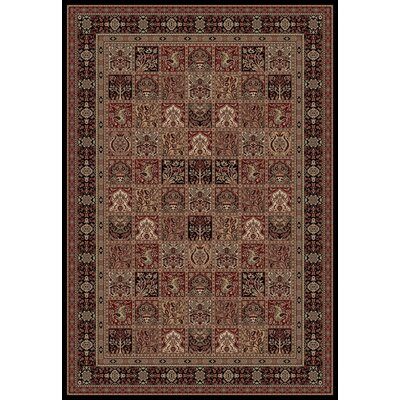 Persian Classics Oriental Panel Area Rug Rug Size: 67 x 96