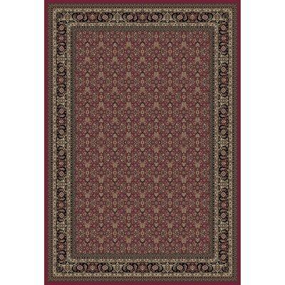 Persian Classics Herati Red Area Rug Rug Size: 3'11