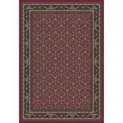 Persian Classics Herati Red Area Rug Rug Size: 93 x 1210