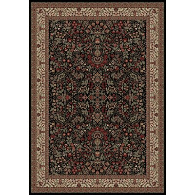 Persian Classics Oriental Sarouk Area Rug Rug Size: Rectangle 311 x 57