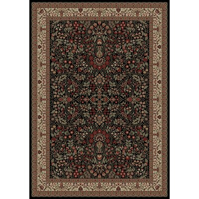 Persian Classics Oriental Sarouk Area Rug Rug Size: 53 x 77