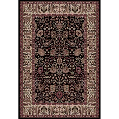 Persian Classics Oriental Vase Area Rug Rug Size: 53 x 77