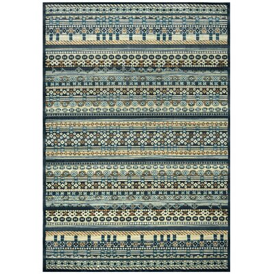 Area Rug Rug Size: Rectangle 53 x 77