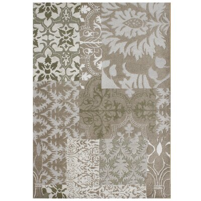 Bageshwar Hand-Tufted Olive Green Area Rug Rug Size: Rectangle 4 x 6