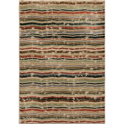 Forever Wave Multi Area Rug Rug Size: 53 x 76