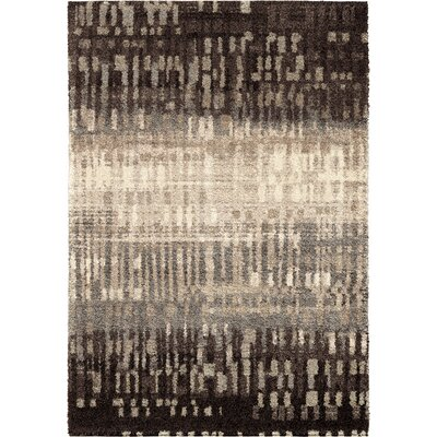 Claybourne Black Area Rug Rug Size: 53 x 76