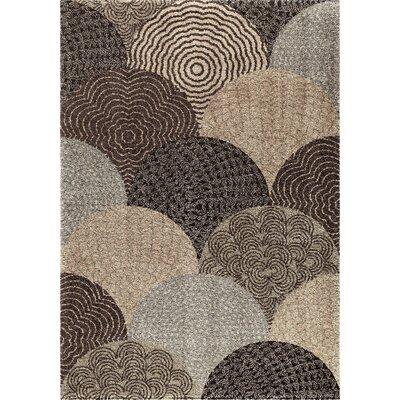 Oceana Brown Area Rug Rug Size: 710 x 1010