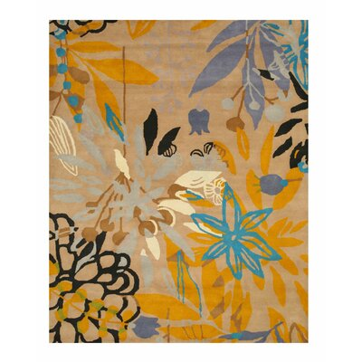 Hand Tufted Area Rug Rug Size: 79 x 99