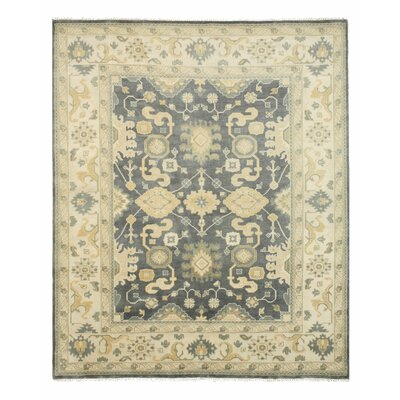 Ernestine Hand Knotted Area Rug Rug Size: 9 x 12