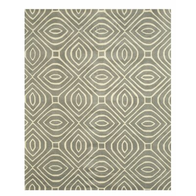 Wainwright Hand Tufted Gray Area Rug Rug Size: 9 x 12