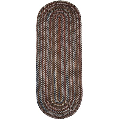 Handmade Walnut Area Rug Rug Size: Runner 2 x 6