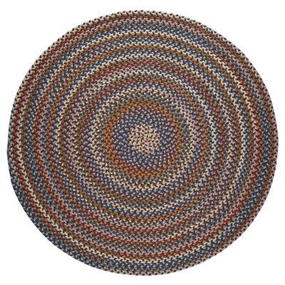 Handmade Walnut Area Rug Rug Size: Round 4'
