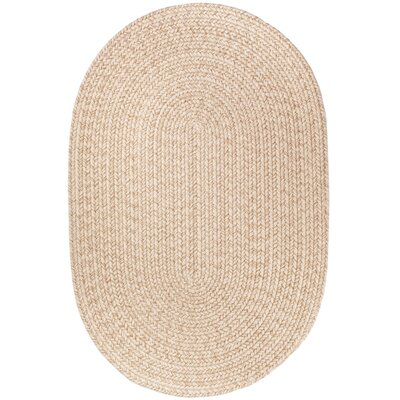 Handmade Sand Area Rug Rug Size: Oval  4 x 6