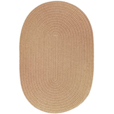 Handmade Wheat Area Rug Rug Size: Oval  2 x 4
