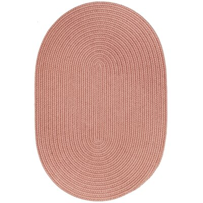 Handmade Red Area Rug Rug Size: Oval 5 x 8