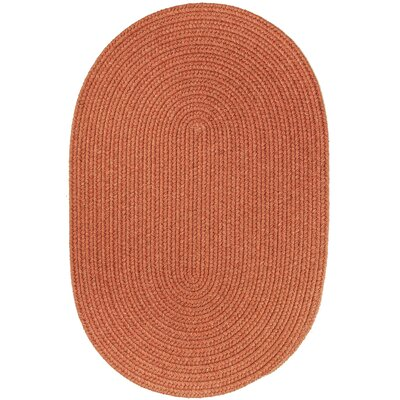 Handmade Terra Cotta Area Rug Rug Size: 10 x 13