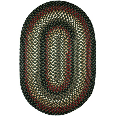 Handmade Indoor/Outdoor Area Rug Rug Size: Oval 8 x 11