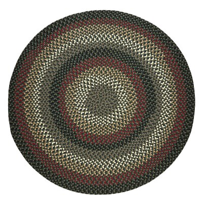 Handmade Indoor/Outdoor Area Rug Rug Size: Round 6