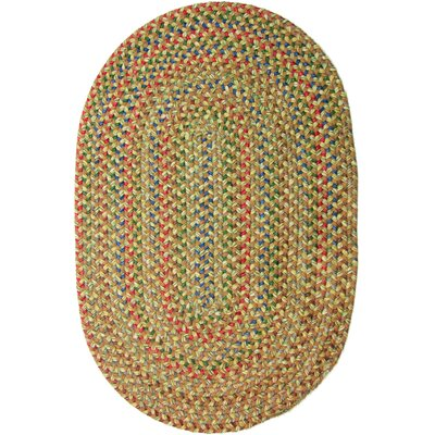 Camel Indoor/Outdoor Area Rug Rug Size: Oval 8 x 11
