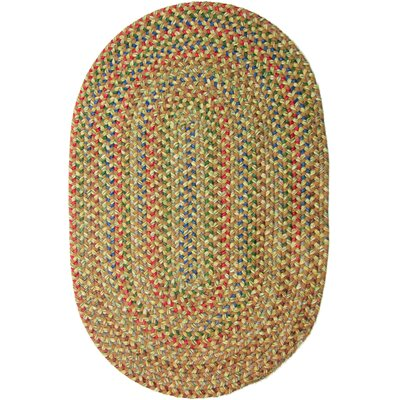Camel Indoor/Outdoor Area Rug Rug Size: Oval 5 x 8