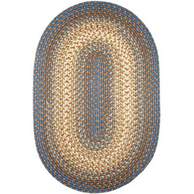 Handmade Indoor/Outdoor Area Rug Rug Size: Oval  10 x 13