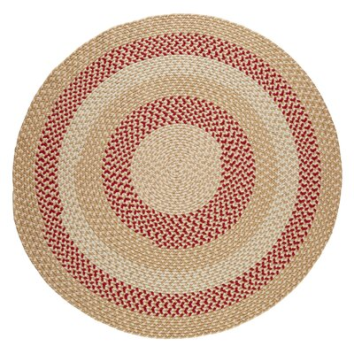 Handmade Natural Indoor/Outdoor Rug Rug Size: Round 10