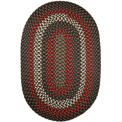 Handmade Indoor/Outdoor Area Rug Rug Size: Oval 3 x 5