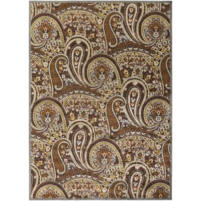 Hester Espresso Area Rug Rug Size: Rectangle 76 x 106