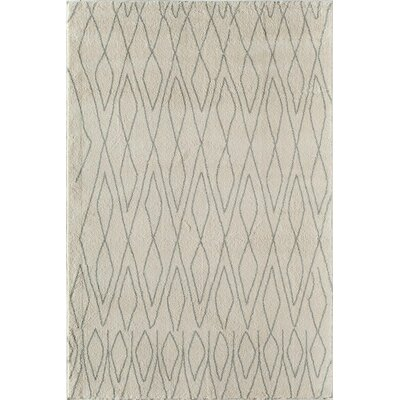 Tangier Ivory Area Rug Rug Size: 311 x 53