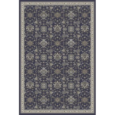 Country Navy Area Rug Rug Size: 2 x 4