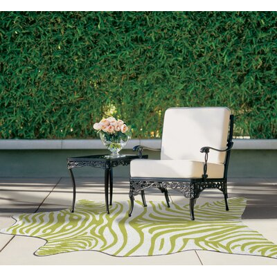 Hand-Woven Green Outdoor Area Rug Rug Size: Rectangle 8 x 10